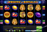 best casino slots Fruits and Royals Novoline