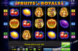 best casino slots Fruits and Royals Gaminator